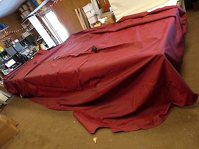 "MISTY HARBOR 1682 / 52116 (2015) COACHRED PONTOON COVER 263"" X 135"" MARINE BOAT"