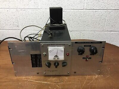 Oem Leeds Northrup D.c Null Detector Cat.no. 9834-1