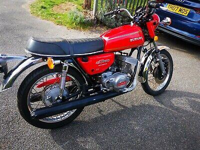 SUZUKI GT250 1977