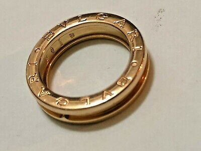 Bulgari B.zero1 One-Band 18ct Yellow Gold Ring 6.7 gr