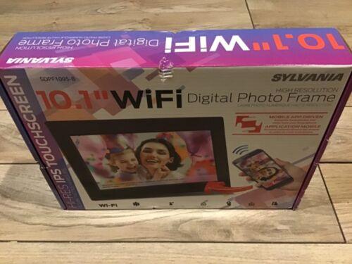"Sylvania 10.1"" WIFI Digital Photo Frame High Resolution Touchscreen SDPF1095-B"
