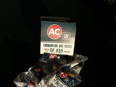 (3) NOS AC GF455 1967-1969 Corvette 67 Chevelle SS Camaro Z28 SS RS Fuel Filters