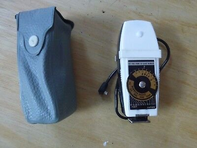 Very rare collectable HANIMEX dual compact folding fan BC flashgun II- £100+