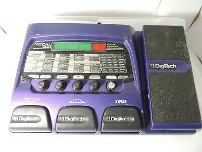 Digitech Vocal 300 Multi Effects Pedal Processor Free USA Shipping, used for sale  Austin