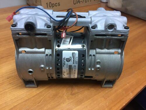 Thomas 2660CE54 / 979D 5.1 CFM Hi Flow Compressor for Pond Aeration Respironics