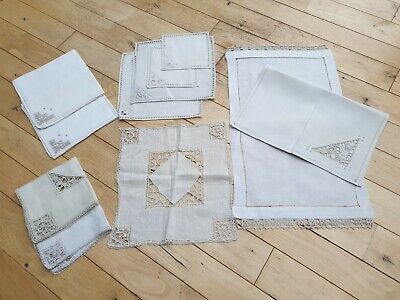 Assortment of Vintage Linen