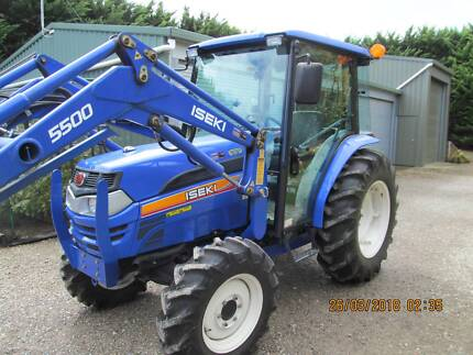 Iseki TG5570 tractor (as new condition) incl  implements .. Rosebud Mornington Peninsula Preview