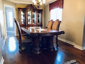 Solid Wood 12pc Dining Set
