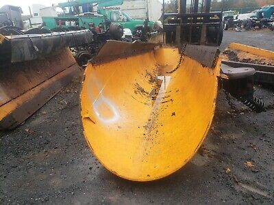 Heavy Duty Roll To The Right 11 Ft Snow Plow Hydraulic Truck Tractor