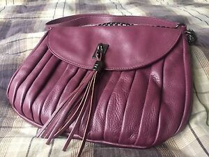 David Lawrence  Leather Bag on Chain (Mint Condition) Manning South Perth Area Preview
