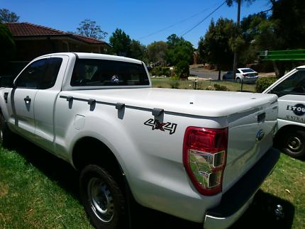 Ford ranger super cab hard lid