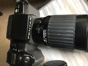 Pentax Camera with two lens