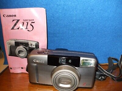 Canon SureShot Z115 Point and Shoot Film Camera - Untested  (#fr98)