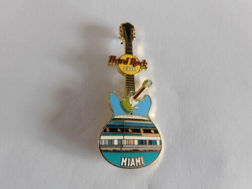 Hard Rock Cafe MIAMI 2004 - Facade Front HRC Building Guitar Series Pin