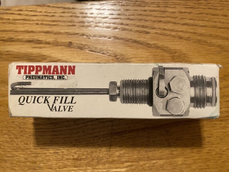 Rare Tippmann Pneumatics Quick Fill Valve Paintball CO2 NOS