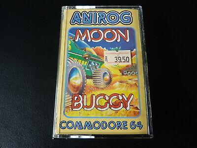 Commodore 64 Game - Turbo Moon Buggy - Anirog - Tape, usado comprar usado  Enviando para Brazil