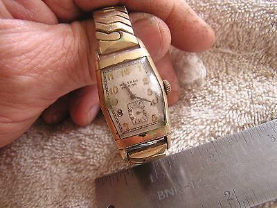 Vintage Waltham Premier Watch 17 Jewels 870
