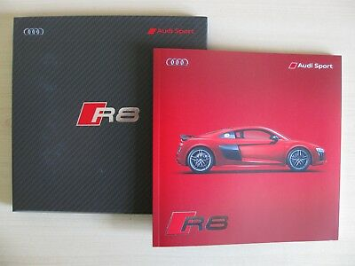 Audi R8 & R8 Plus UK Sales Brochure in Presentation case (2016 Ed 1.0)