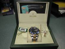 Rolex-Submariner-1999-Two-Tone-Blue-Index-Dial-16613 Wishart Brisbane South East Preview
