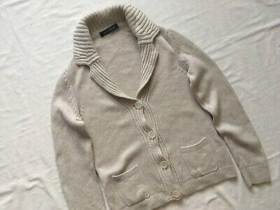 Women's Iris Von Arnim Cashmere Cardigan/Sweater size M VGC