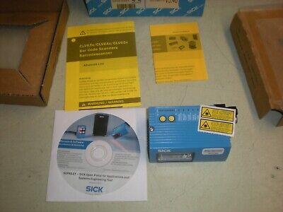 Sick Clv630-1831s01 Bar Code Scanner Reader - Software Version 5.40 - Nib - 2