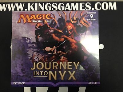 Journey into Nyx Fat Pack - Factory Sealed - MTG Magic the Gathering - FREE SHIP