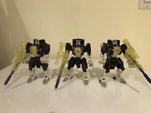 Transformers Energon Battle Ravage x3