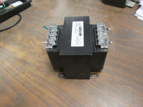 Micron ImperviTRAN Control Transformer B500-0024-5H 500VA Pri:240/480V Sec:120V