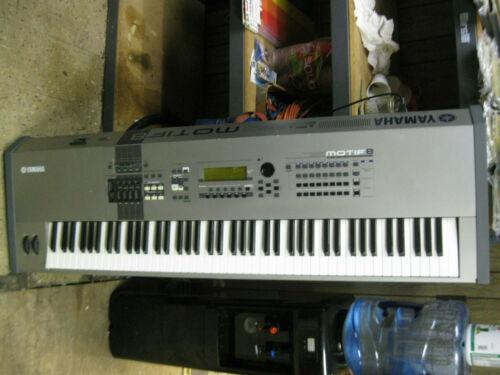 Yamaha Motif 8 Synthesizer 88 weighted key keyboard