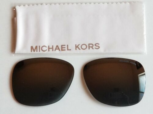 Brand New Michael Kors ENA 2054 Gray Gradient Mirrored Lens Replacements 55mm