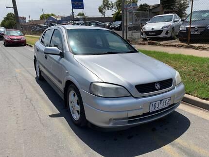 2001 Holden Astra CD Sedan Shepparton Shepparton City Preview