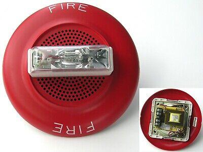 New Eaton Wheelock E60-24mcc-fr Fire Alarm Speaker Strobe Red