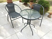 3 piece outdoor coffee table setting Brassall Ipswich City Preview