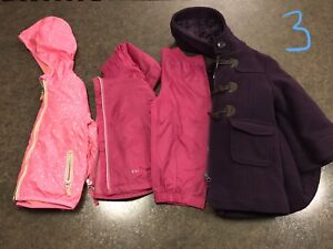 Winter girl clothes lot size 3