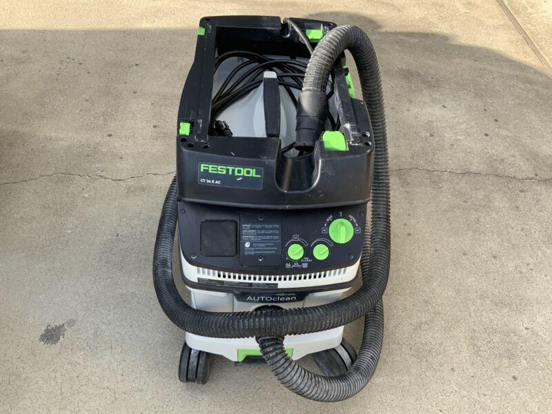 Festool Drywall Dust Extractor CT 36 E AC HEPA