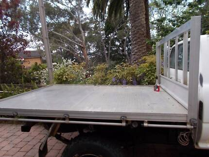 Alloy tray flatbed with water tank single cab ute Oatley Hurstville Area Preview