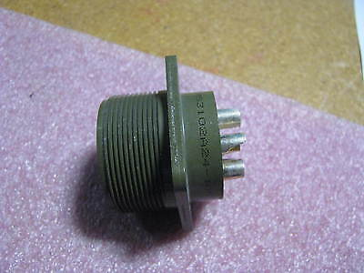 Ddk   Amphenol Connector W Contacts   Ms3102a24 10P