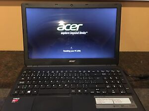 Acer laptop and printer