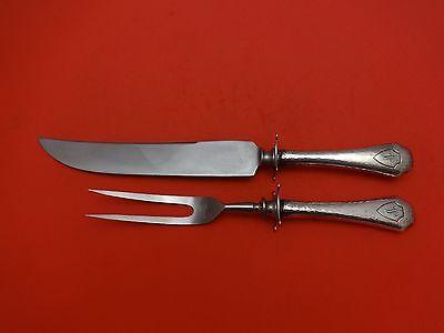 Crawford Muster (Muster Unbekannte von Wiley Crawford & Co.Sterling Silber Steak Schnitzerei Satz)
