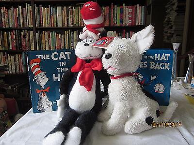 "2003 Kohls Cares Dr. Seuss CAT IN THE HAT Movie 22"" Cat & Dog"