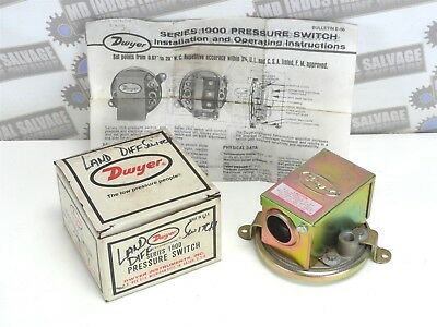DWYER Pressure Switch PART# 1910-1 * (NEW in BOX)