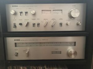 Vintage Yamaha Natural Sound Stereo Amplifier CA 610 and Tuner