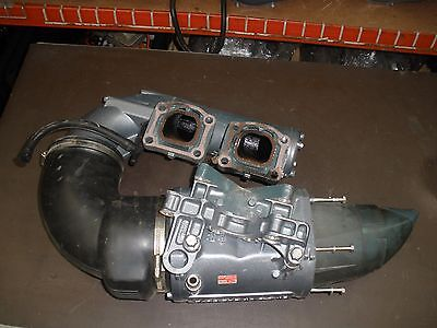 YAMAHA 701 62T EXHAUST PIPE WAVERAIDER MISSING THE OUTER EXHAUST COVER