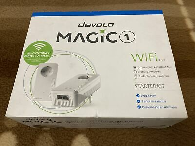 Adaptador Powerline Devolo Magic 1 Wifi En Todas Partes 2 Adaptadores Powerline