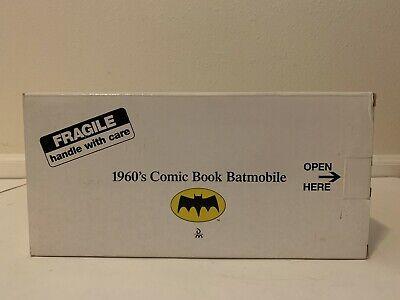 Danbury Mint 1960s Comic Book 1:24 Scale Batmobile with Box & Care Instructions