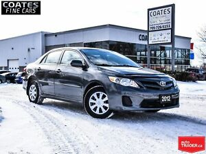 2012 Toyota Corolla CE CLEAN CARPROOF  4 NEW TIRES  ONLY 126253k
