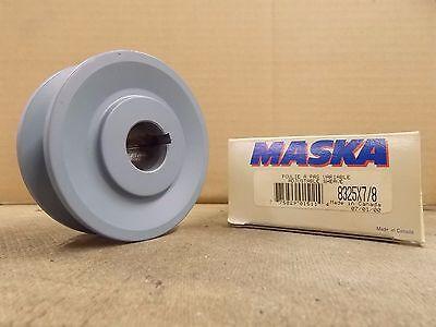 Maska 8325x78 Adjustable Sheave Pulley 3.25 Od