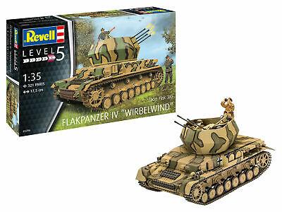 "Revell 03296 Flackpanzer IV ""Wirbelwind"" Flack 38 Plastik Modellbausatz 1:35 NEU"