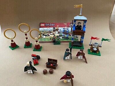 LEGO Harry Potter Quidditch Match (4737) 100% Complete with Instructions
