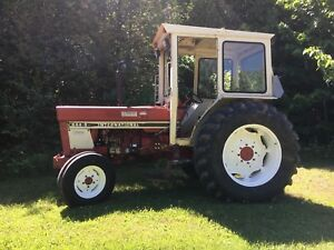 International 844s 82 HP Tractor
